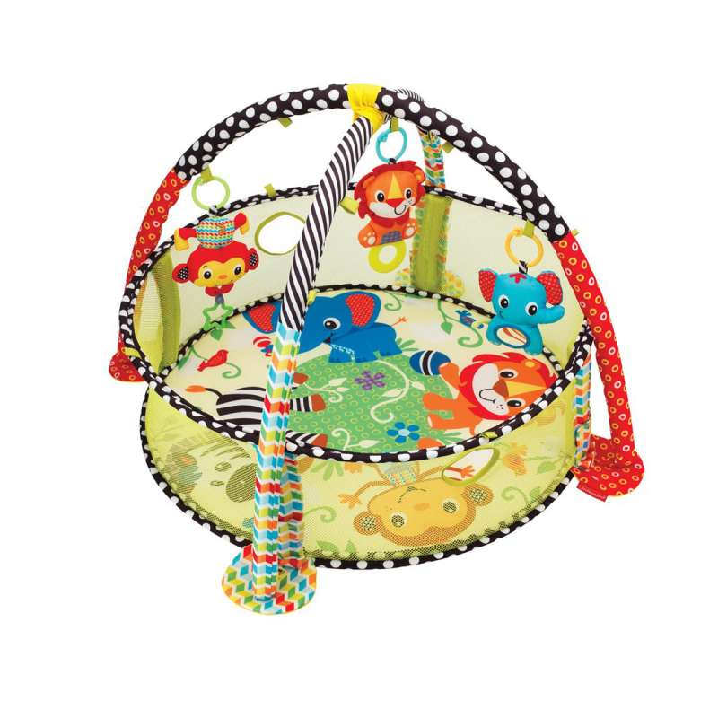 Infantino podloga za igru i bazen za lopte Kornjača